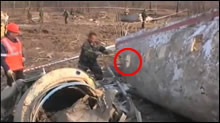 Polish Air Crash In Russia - Destruction of evidence at the crash site, Photo 01