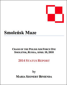 """Smolensk Maze"" 2014 Smolensk Crash Status Report Download."