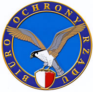 Biuro Ochrony Rzadu - Polish Government Security Bureau.