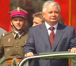 Lech Kaczynski, President of the Republic of Poland