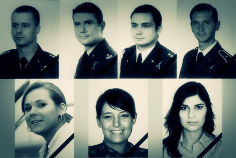 The crew of Polish Air Force One, Flight PLF101