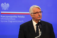 Witold Waszczykowski, Poland's Minister of Foreign Affairs