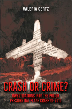 Crash or Crime book by Valeria Gertz.