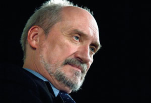 The Honorable Antoni Macierewicz.