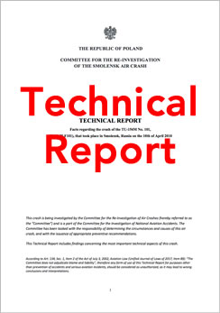 2018 Smolensk Crash Technical Report.