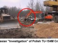 "The actual Russian ""investigation"" of Polish government Tupolev TU-154M crash in Smolensk, Russia.  April 2010. Photo 2"