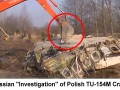 "The actual Russian ""investigation"" of Polish government Tupolev TU-154M crash in Smolensk, Russia.  April 2010. Photo 1"